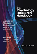 The Psychology Research Handbook