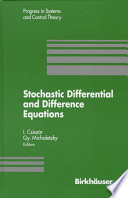 Stochastic Differential and Difference Equations