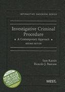 Investigative Criminal Procedure