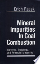 Mineral Impurities in Coal Combustion