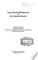 Improving the Management of U.S. Marine Fisheries