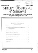 The Sibley Journal of Engineering