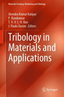 Tribology in Materials and Applications