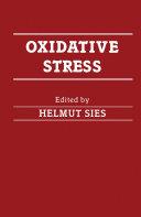 Oxidative Stress Pdf/ePub eBook