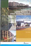 Comparing Spatial Features of Urban Housing Markets
