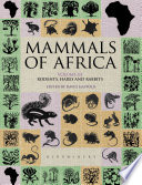 Mammals Of Africa Volume Iii