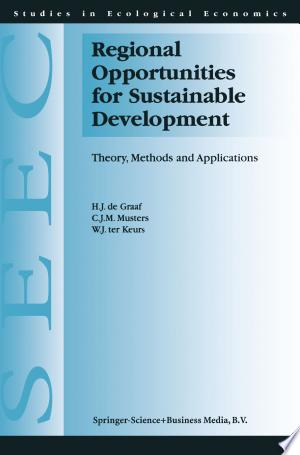 Download Regional Opportunities for Sustainable Development Free Books - Read Books