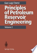 Principles Of Petroleum Reservoir Engineering Book PDF