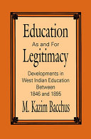 Pdf Education as and for Legitimacy
