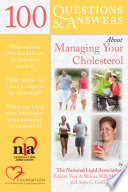 100 Questions   Answers About Managing Your Cholesterol Book