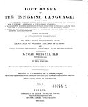 A Dictionary of the English Language ebook