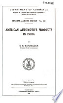 American Automotive Products In India