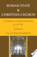 Roman State   Christian Church Volume 2