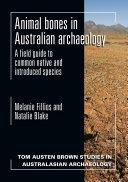 Animal bones in Australian archaeology