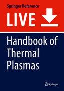 Handbook of Thermal Plasmas