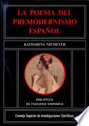 La poesía del premodernismo español