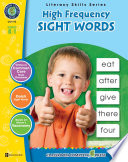 High Frequency Sight Words Gr  PK 2