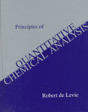 Principles of Quantitative Chemical Analysis