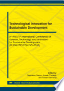 Technological Innovation for Sustainable Development
