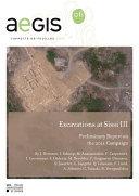 Excavations at Sissi III