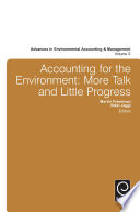 Accounting for the Environment