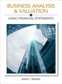 Business Analysis Valuation  Using Financial Statements