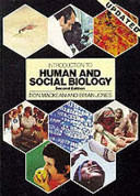 Introduction to Human and Social Biology Book Cover