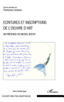 Pdf Ecritures et inscriptions de l'oeuvre d'art Telecharger