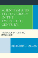 Scientism and Technocracy in the Twentieth Century