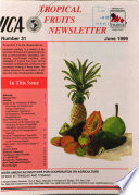 Tropical Fruits Newsletter June 1999