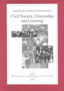 Civil Society  Citizenship and Learning