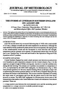 Journal of Meteorology Book