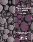 Handbook Of Pharmaceutical Excipients Book PDF