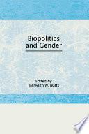Biopolitics and Gender