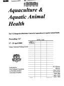 Aquaculture   Aquatic Animal Health