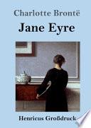 Jane Eyre (Großdruck)
