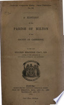 A History of the Parish of Milton in the County of Cambridge