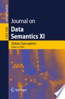 Journal On Data Semantics XI