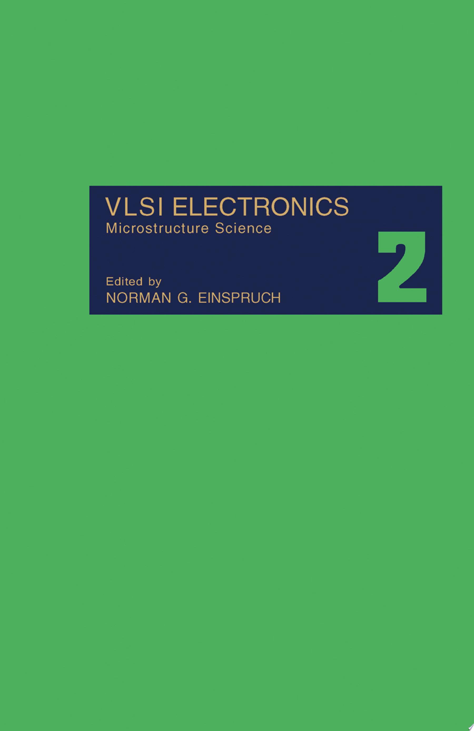 VLSI Electronics