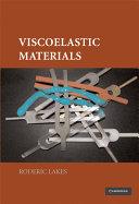 Viscoelastic Materials
