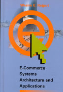 E Commerce Systems Architecture and Applications Book
