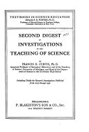 A Digest of Investigations in the Teaching of Science