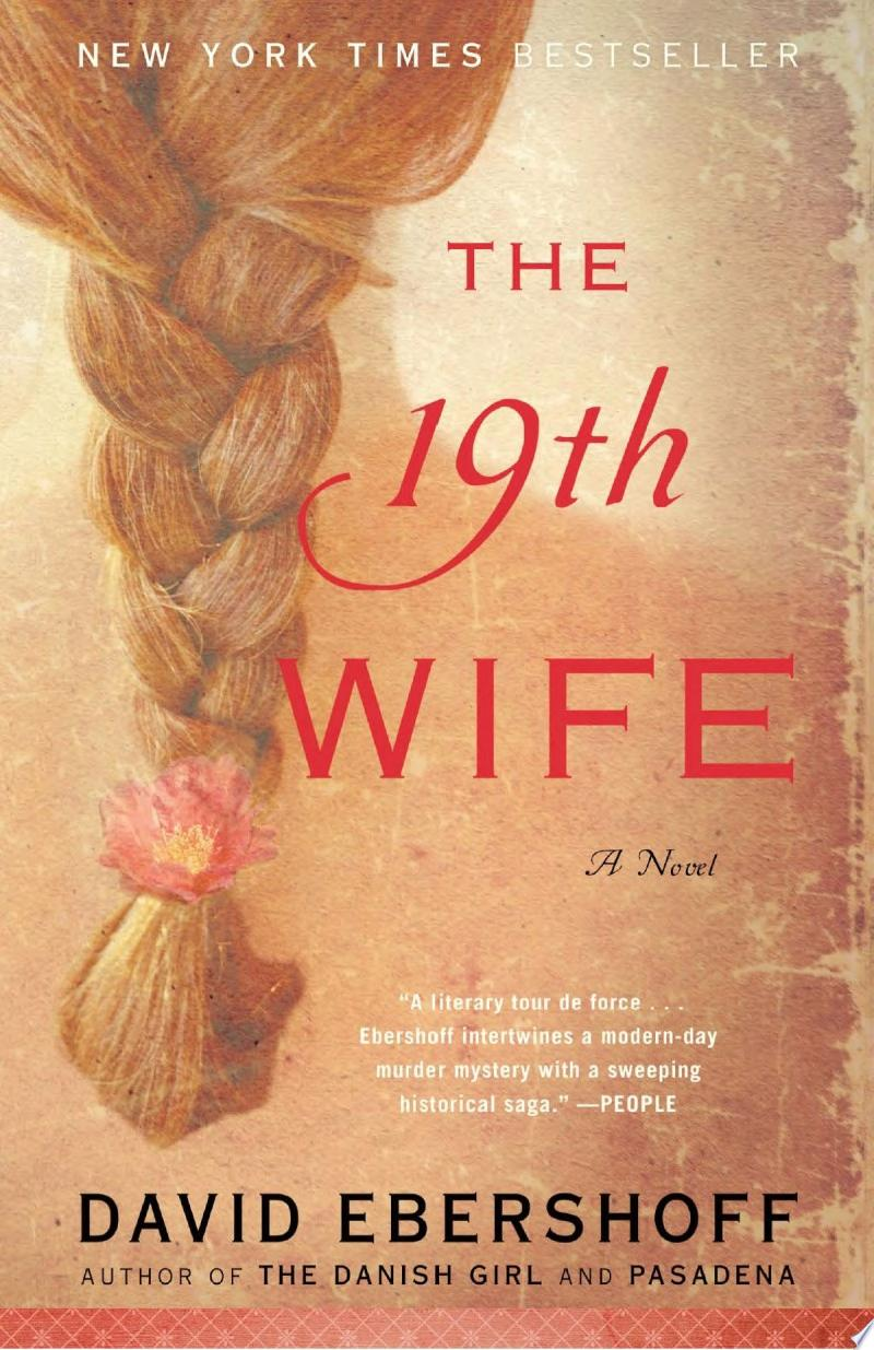 The 19th Wife (Random House Reader's Circle Deluxe Reading Group Edition) banner backdrop