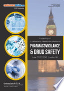 Proceedings of 12th International Conference and Exhibition on Pharmacovigilance   Drug Safety 2018