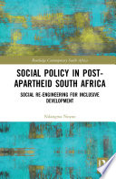 Social Policy In Post Apartheid South Africa