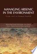 Managing Arsenic In The Environment