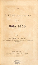 The Little Pilgrims in the Holy Land