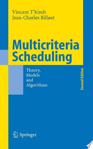 Free Download Multicriteria Scheduling PDF - Writers Club