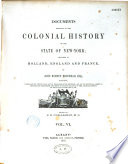 Documents Relative to the Colonial History of the State of New-York
