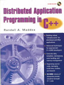 Distributed Application Programming in C   Book